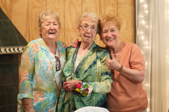 My grandma and her two younger sisters.